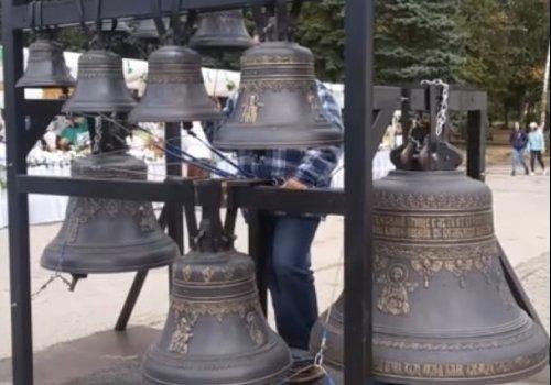 Звон колоколов нашего Ярославского колокольного завода (видео)